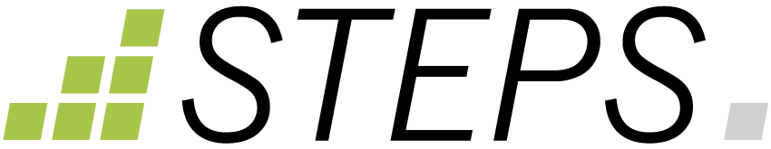 STEPS digital Logo dunkle Schrift